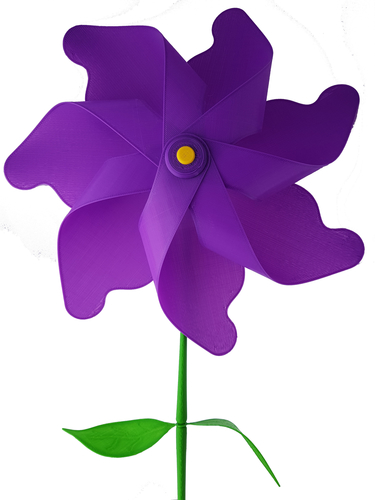 Flower Windmill 3D Print 156389