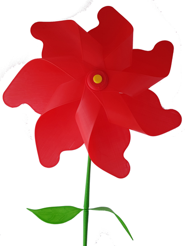 Flower Windmill 3D Print 156390