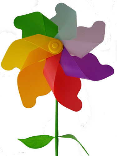 Flower Windmill 3D Print 156391