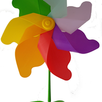 Small Flower Windmill 3D Printing 156391
