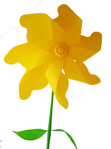 Flower Windmill 3D Print 156392