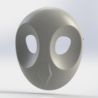 Small Court of Owls Mask 1 3D Printing 156396