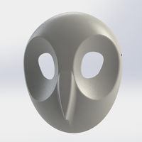 Small Court of Owls Mask 3 3D Printing 156398