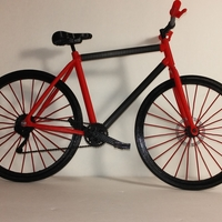 Small Single Bicycle 3D Printing 156441