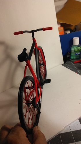 Single Bicycle 3D Print 156442