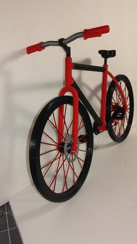 Single Bicycle 3D Print 156443