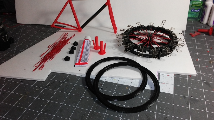 Single Bicycle 3D Print 156447