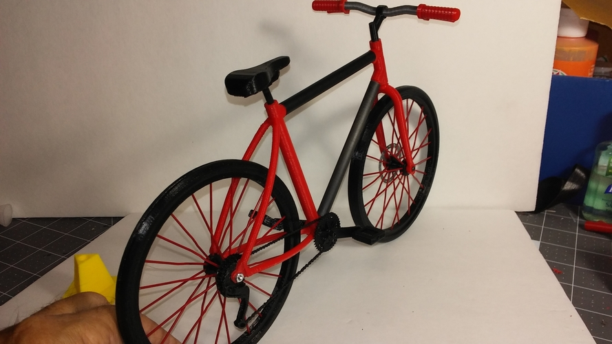 Single Bicycle 3D Print 156449