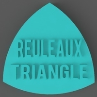 Small Reuleaux Triangle 3D Printing 156462