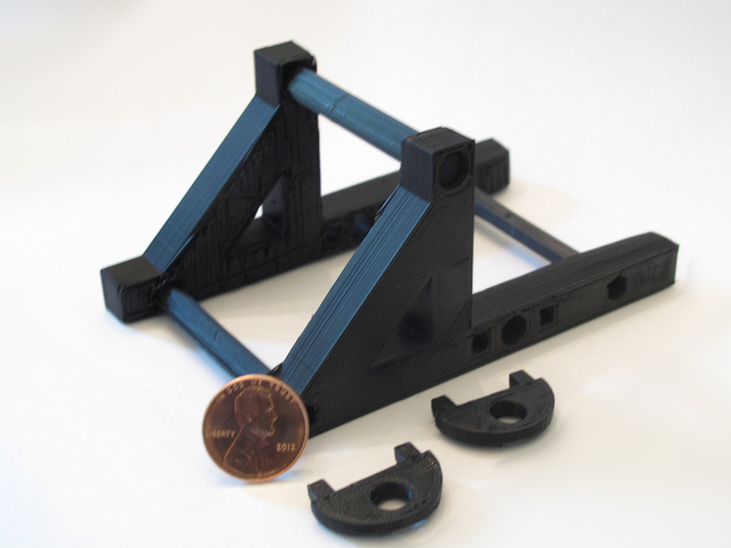 Zheng3 Penny Catapult Base 3D Print 15661