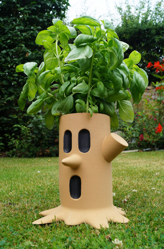 Kirby Whispy Woods Plant Pot  3D Print 156613