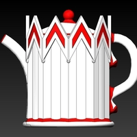 Small BeefEaters Tea Pot 3D Printing 156640