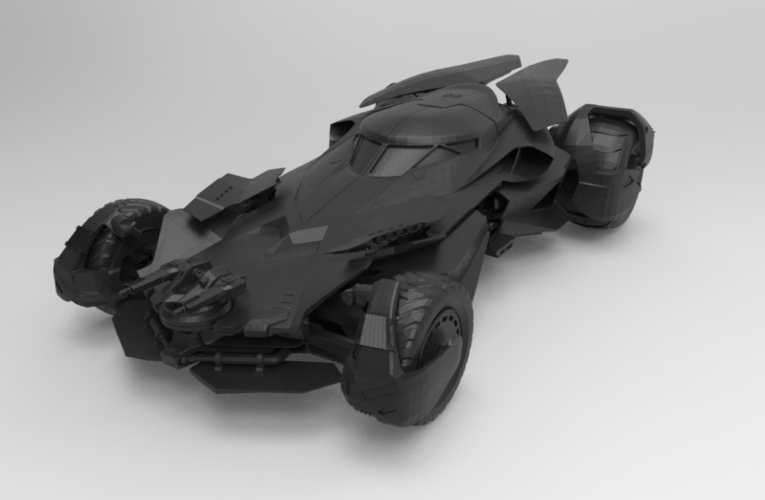 batmobile dawn 3D Print 156643