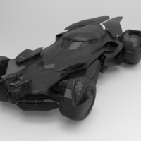 Small batmobile dawn 3D Printing 156643