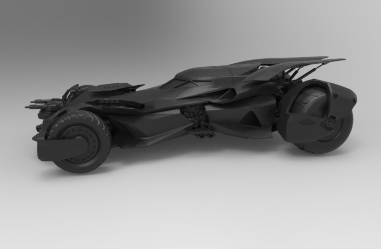 batmobile dawn 3D Print 156644