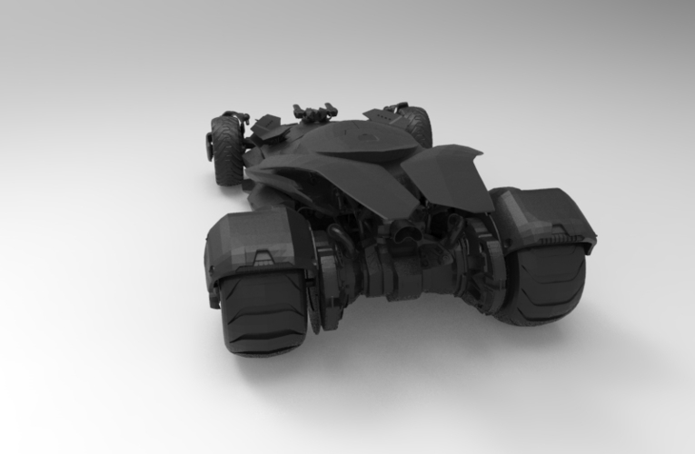 batmobile dawn 3D Print 156645