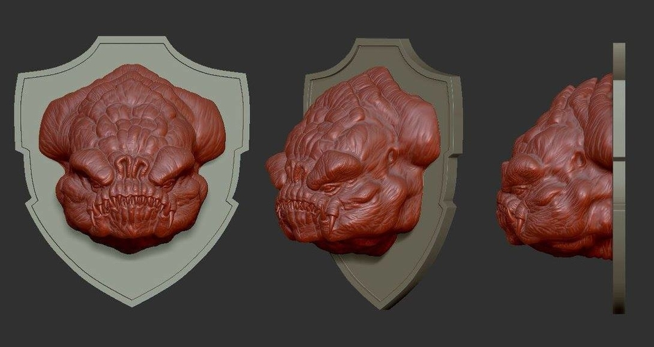 Rancor head 3D Print 156663