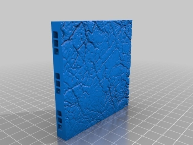 OpenLOCK Tile Samples Dirt Shanty Stone Log Walls and Floors 3D Print 156673