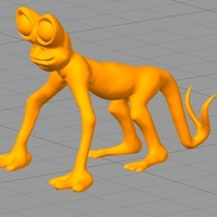 Small Weird Creature  3D Printing 156720