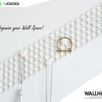 Small Wallhive | Modular Wall Storage System 3D Printing 156721