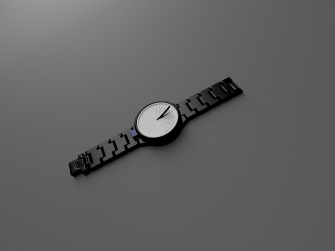 Mechanical Sun Dial Watch 3D Print 156747