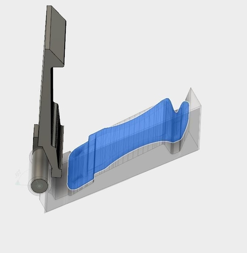 Kydex Belt Clip Press 3D Print 156757