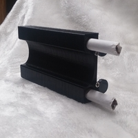 Small Lighter & 2 Smokes Case 3D Printing 156892
