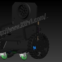Small miniWheelChairBot3 3D Printing 156899
