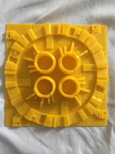 Death Star Surface Tiles 3D Print 156911