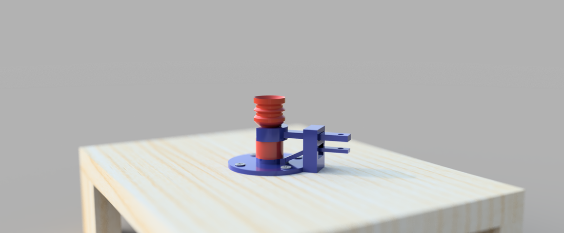 Water Bottle Rocket 3D Print 156930