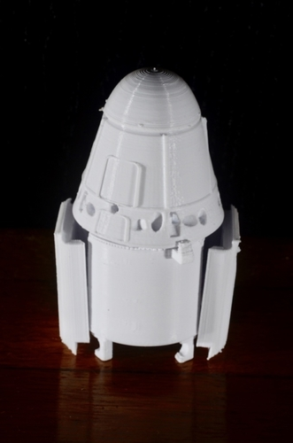 SpaceX Falcon 9 Model Kit 3D Print 156969