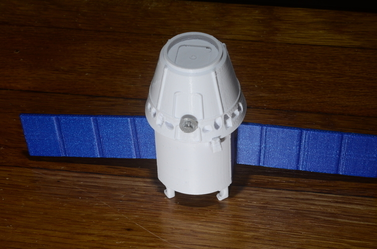 SpaceX Falcon 9 Model Kit 3D Print 156983