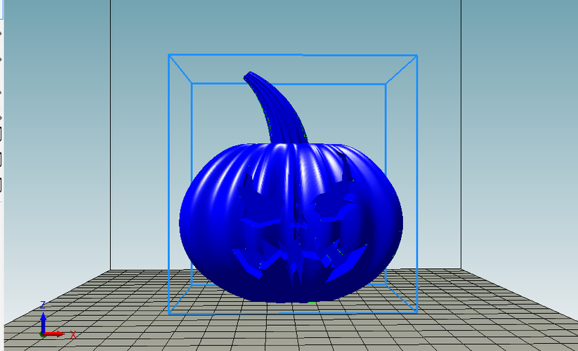 Pumpkin Batman Arkham Knight 3D Print 157001