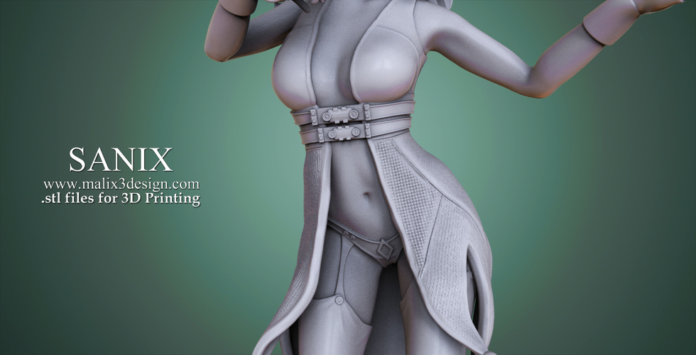 Harley Quinn - 3D Model for 3D Printing 3D Print 157007