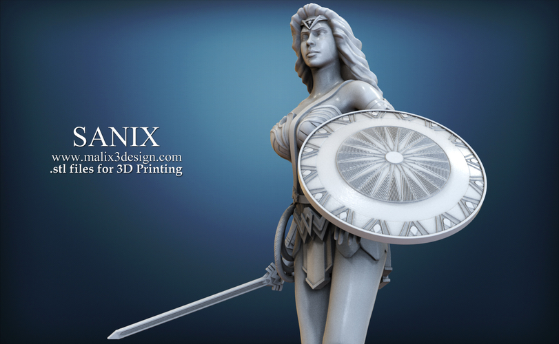 Wonder Woman - STL files for 3D Printing 3D Print 157016