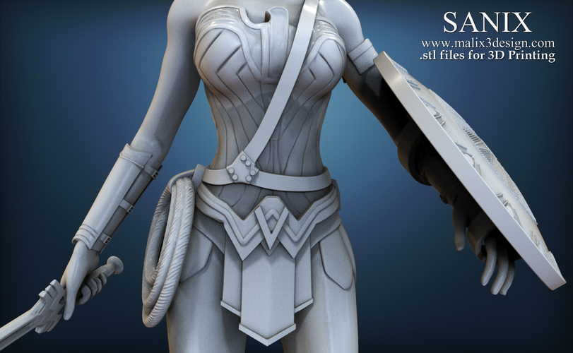 Wonder Woman - STL files for 3D Printing 3D Print 157019