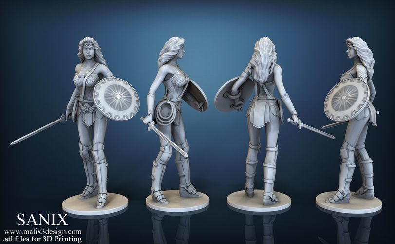 Wonder Woman - STL files for 3D Printing 3D Print 157023