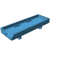 Small battery tray fits cberc switchback 3D Printing 157025