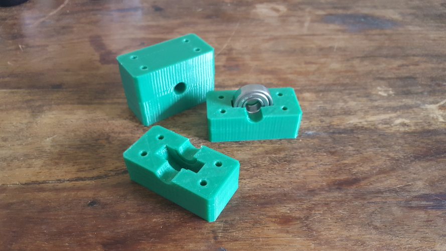 Bearing Block diameter 26mm x 8mm. hole 10mm 3D Print 157086