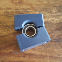 Small Bearing Block diameter 51mm x 12mm. hole 25mm 3D Printing 157087