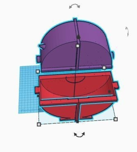 Round enclosed spool holder 3D Print 157125