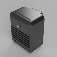 Small Bluetooth Drive-In Speaker 3D Printing 157138