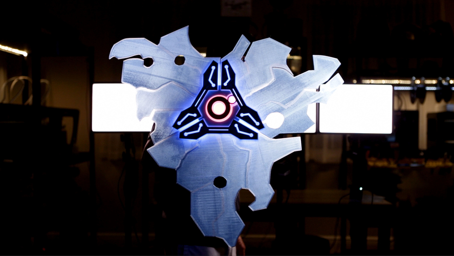 Guardian Shield+ Zelda Breath of the Wild 3D Print 157182