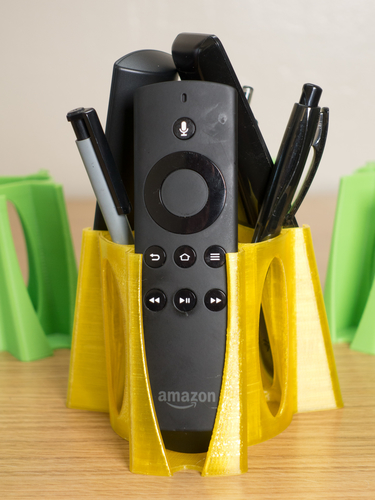 Media Players Remote Caddy 3D Print 157207