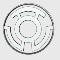 Small Yellow  Lantern Corps Emblem 3D Printing 157239