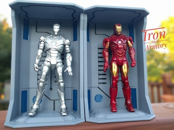 Iron Man Hall of Armors - Armory 3D Print 157261