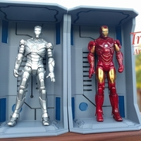 Small Iron Man Hall of Armors - Armory 3D Printing 157261
