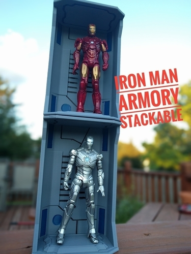 Iron Man Hall of Armors - Armory 3D Print 157262