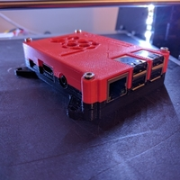 Small Raspberry Pi Case-Top v2 3D Printing 157277