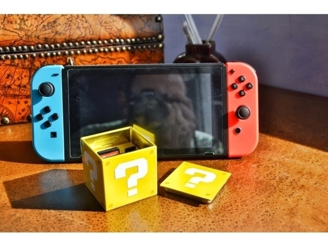 Nintendo Switch Cartridges and Micro SD holder 3D Print 157317